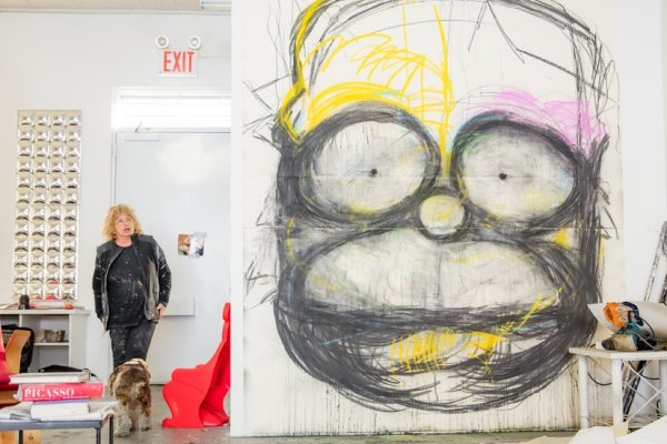 Joyce Pensato, Who Made Cartoon Characters Complex, Dies at 78