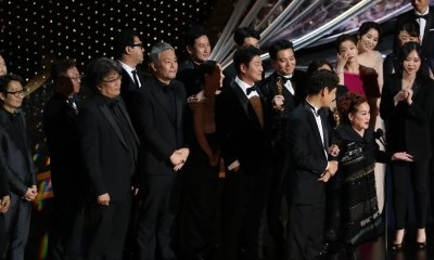 'Parasite' Makes Oscar History With Best Picture Win