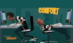 CONFORT o ¿Cómo sentirse cómodo?