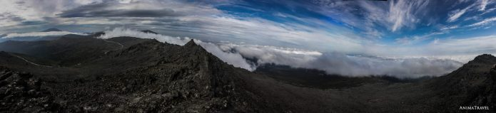 Где-то там Иовское плато. Вид с Серебрянского камня