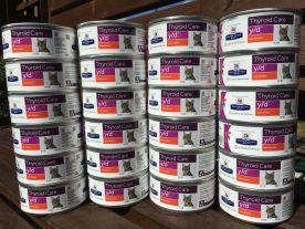 Aude nous a offert ces magnifiques boites de pâté médicalisée, précieuses pour nos séniors malades. Merci Aude !