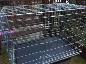 Merci à Eudeline pour cette cage de convalescence, précieuse pour nos campagnes de stérilisation de chats errants !