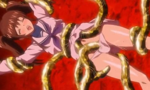 380 - 「化物にしつこく乳首吸われて…クリトリスを優しくコリコリされてるぅ…」美少女JKが魔物触手に凌辱されてしまう…@sharevideos/魔獣浄化少女ウテア