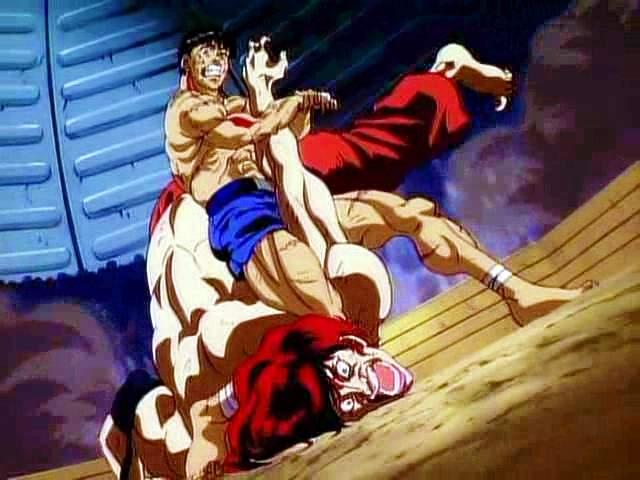 Baki-OVA1994-SS6-O Baki the Grappler OVA 1 Review