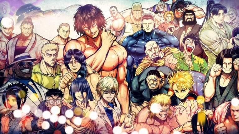 Kengan Ashura characters