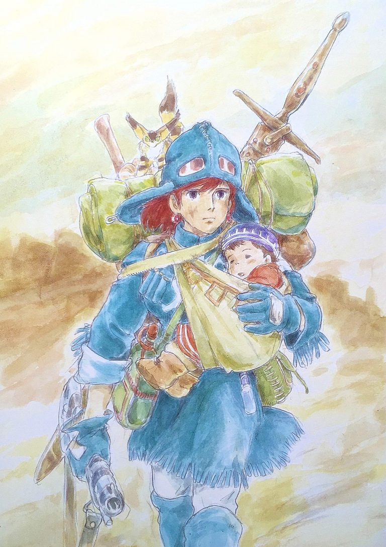 Nausicaa-WP16-O-768x1087 Nausicaä of the Valley of the Wind Movie Review