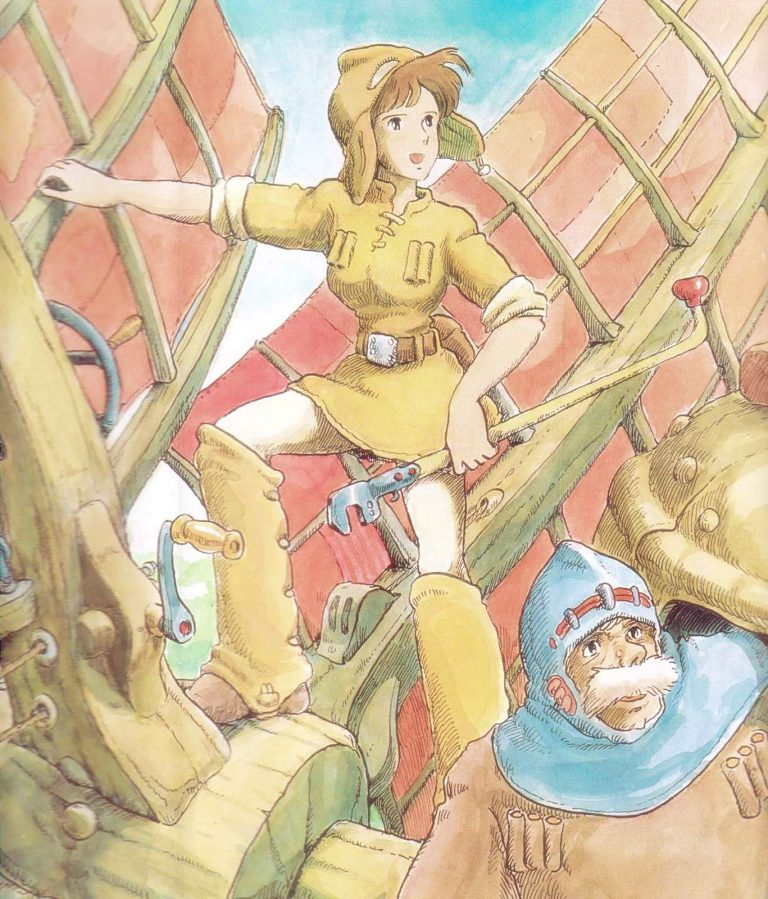 Nausicaa-WP22-O-768x899 Nausicaä of the Valley of the Wind Movie Review