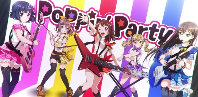 The members of Poppin' Party