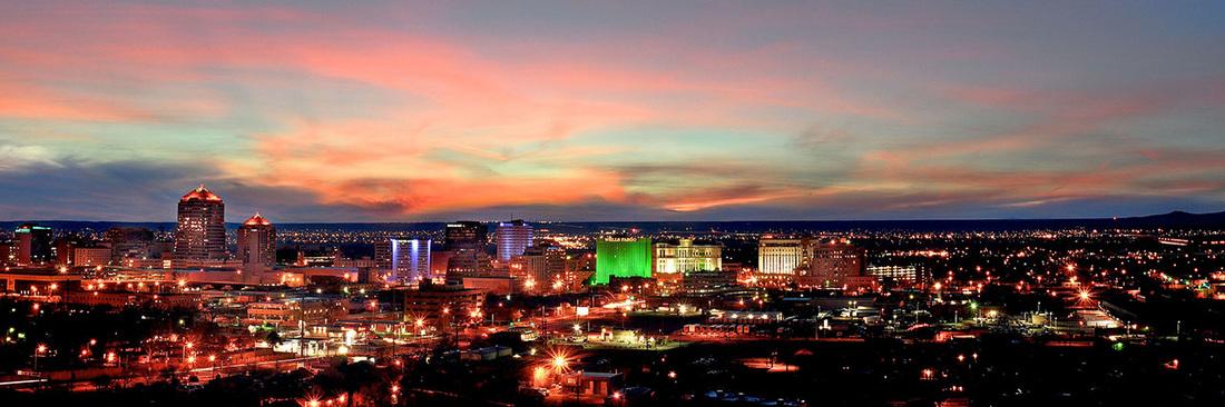 Downtown Albuquerque Cityscape