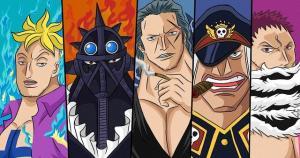 海賊王:10大最強四皇部將。