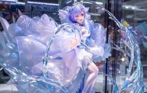 RE0:蕾姆水晶禮服手辦展會圖賞析,高端大氣還很文雅。