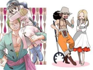 海賊中的CP們:老蔡很害臊,鷹眼原來是個紳士,弗蘭奇最幸福!