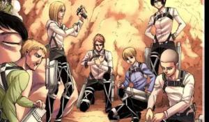 進擊的巨人:諫山創公布劇情還剩下5%,艾倫與兵長將迎來漫畫完結。