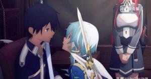 刀劍神域WoU:詩乃當亞總面親桐人,學妹吐槽桐人朋友全是女生。