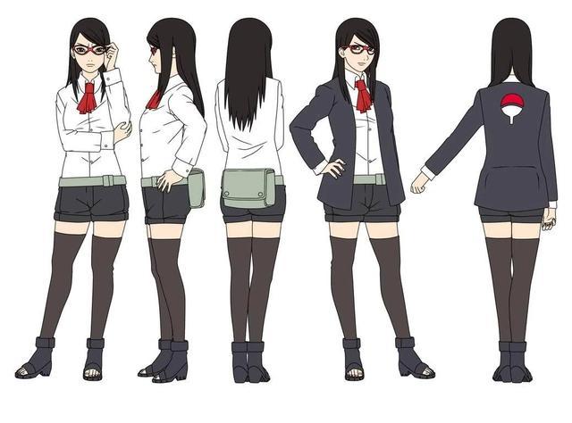 博人傳:新生代女忍16歲人設,佐良娜沒變化,向日葵長殘了