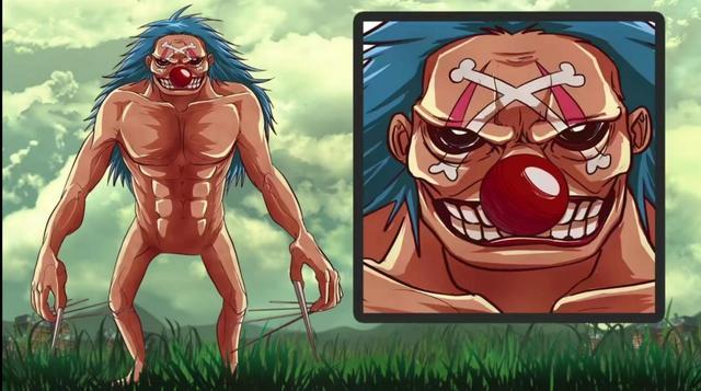 全員巨人,進擊的海賊來襲,娜美喬巴崩壞,白胡子是行走的強大