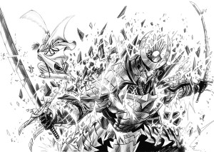 一拳超人152話:居合鋼遭挖角,原子武士加強。