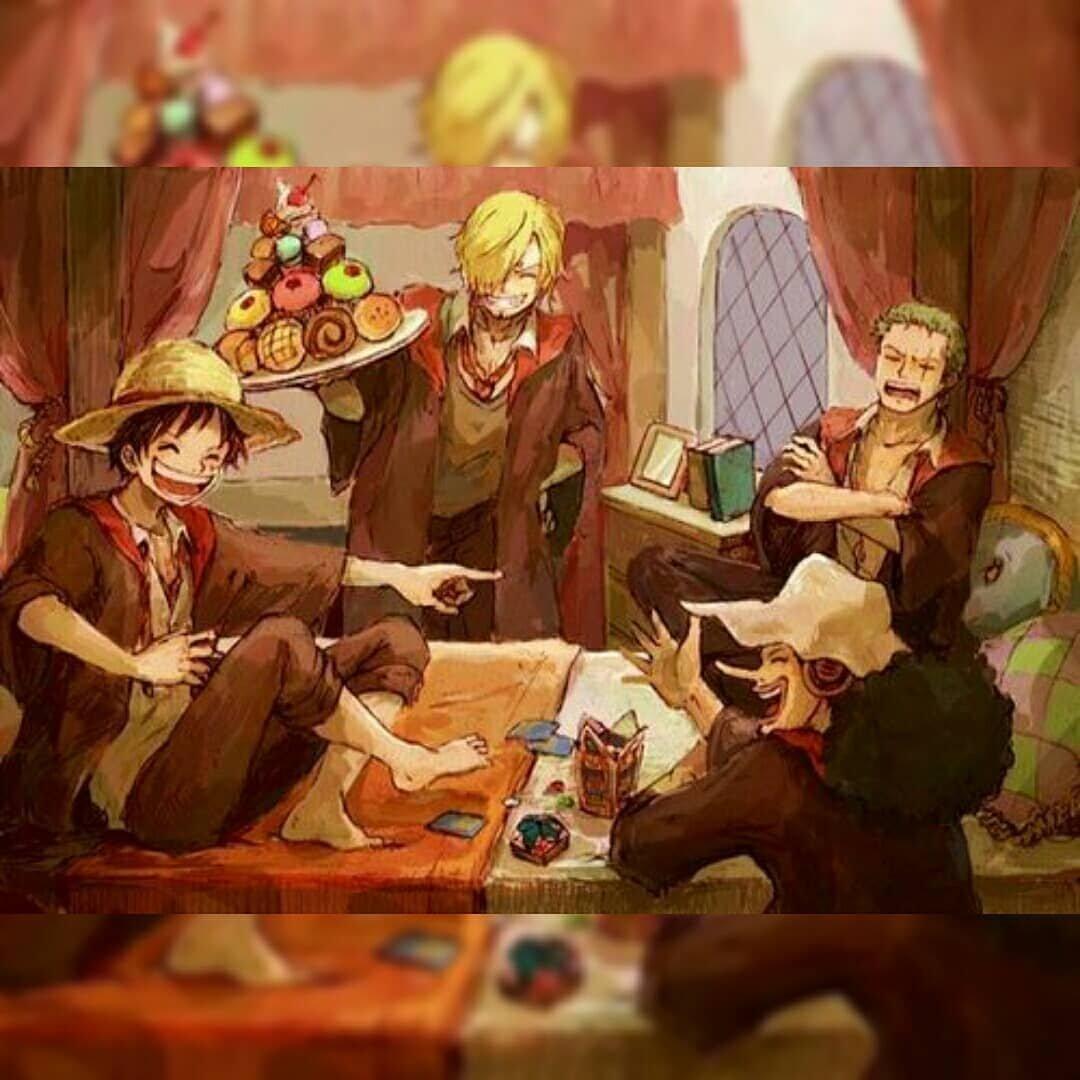海賊王x哈利波特,草帽團住進霍格沃茲魔法學院,娜美羅賓變學姐