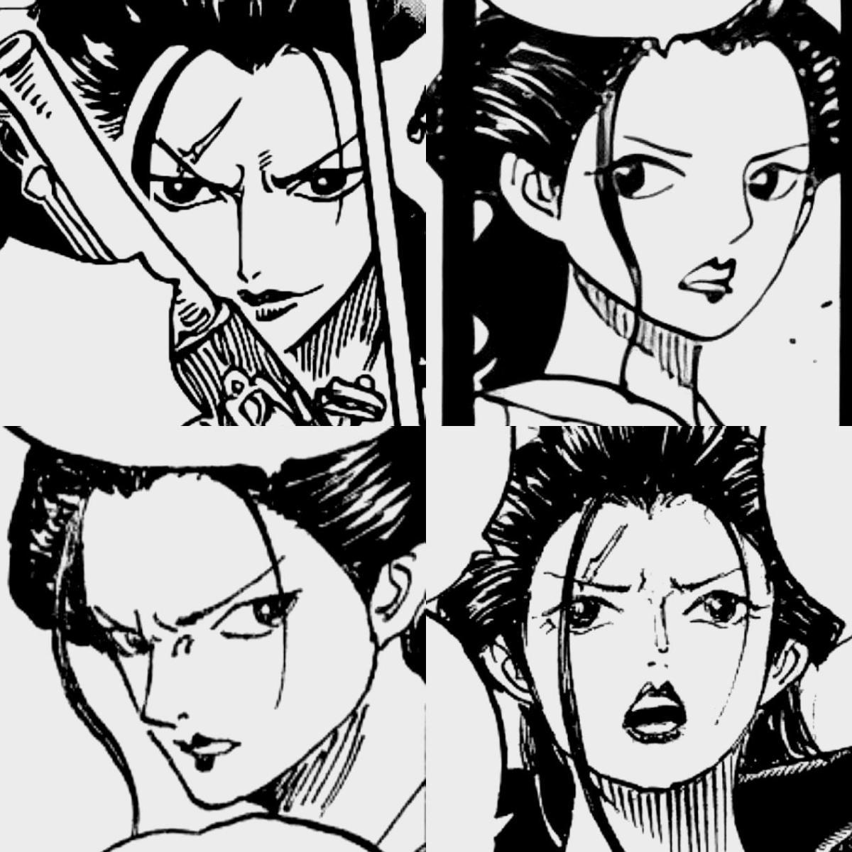 顏值擔當,海賊王裡的4大男性美女,小菊讓男人們傾倒