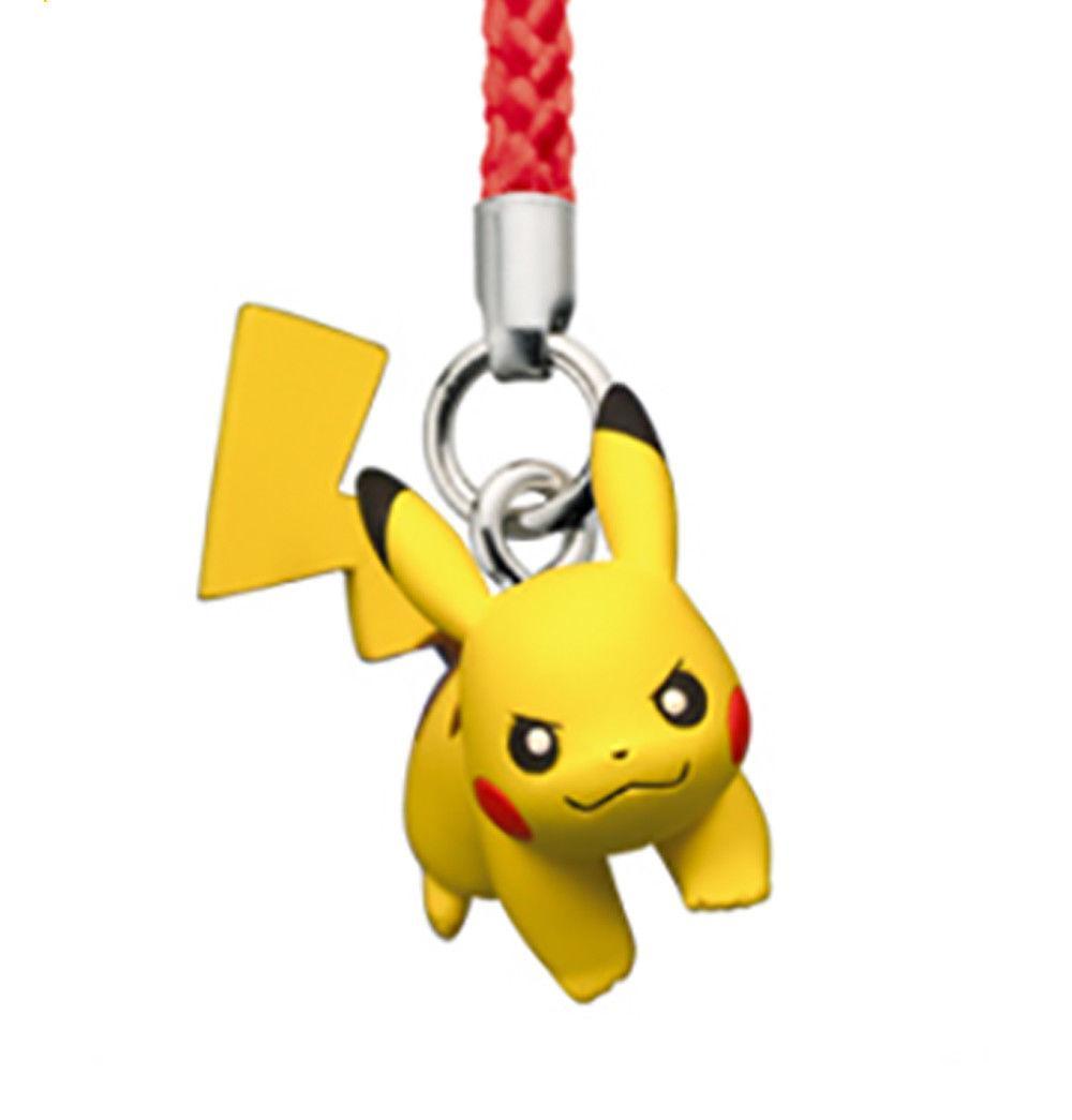 Pokemon XY KLEFKI Netsuke Mascot Strap Cell Phone Capsule Figurine Toy Movie TTA