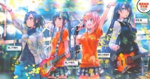 総武高校文化祭のライブステージの図