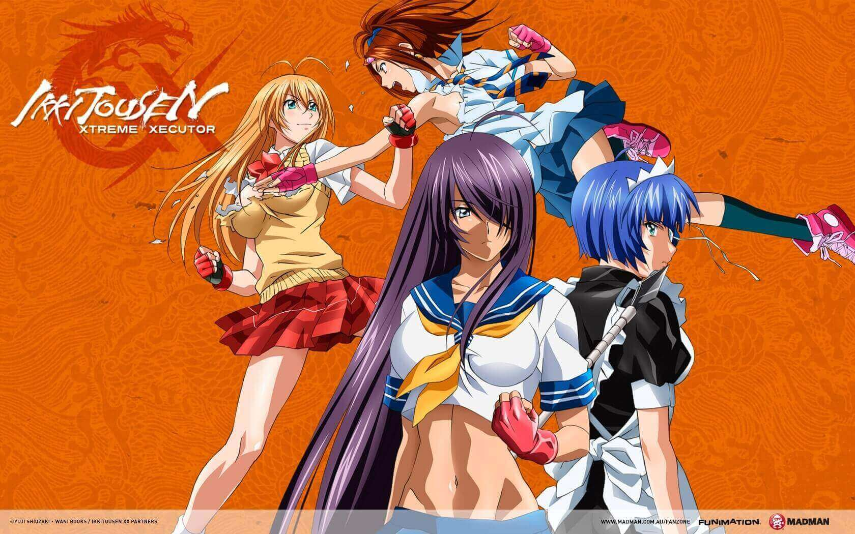 Ikkitousen (S4) BD Subtitle Indonesia Batch