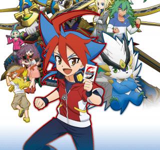 「フューチャーカード神バディファイト」テレビアニメ全30話YouTubeで期間限定配信のお知らせ