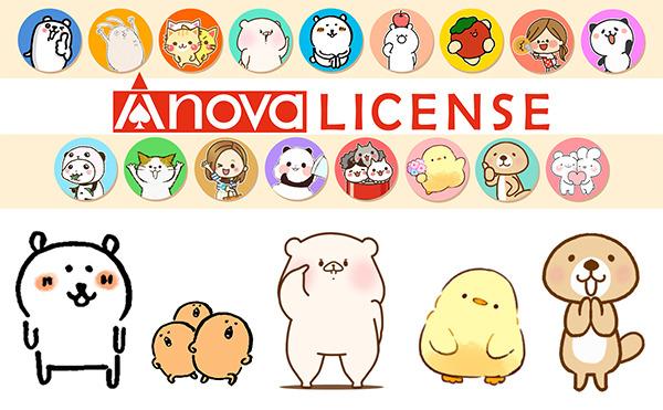 ヒットキャラクターを輩出するネット発SNSキャラクターのプロデュース専門会社『エイノバ株式会社』が創業