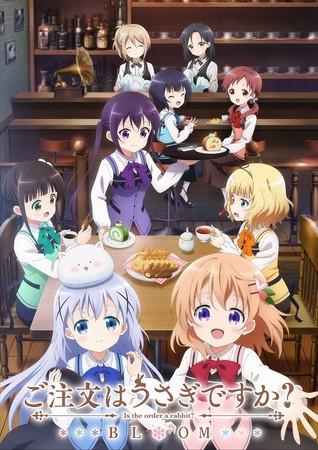 △TVアニメ『ご注文はうさぎですか?BLOOM』キービジュアル