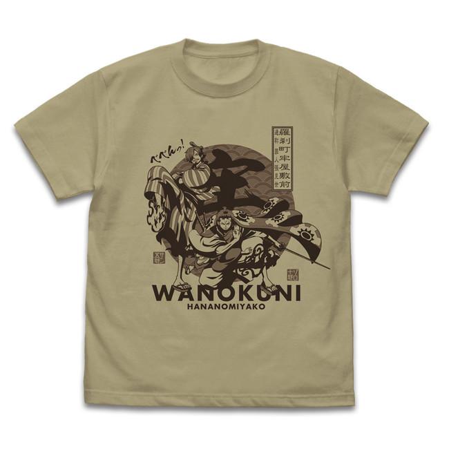 ゾロ十郎&サン五郎 Tシャツ/SAND KHAKI