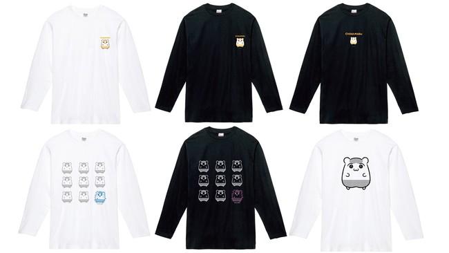 長袖Tシャツ/各3,200円