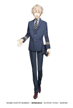 蒼井翔太が声を担当する「大槌カイ」。キャラクターデイザンはカズキヨネ氏