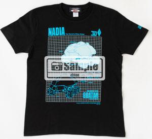 「ふしぎの海のナディア」30年を記念した、グラタン&ν-ノーチラス号の設定Tシャツが写真公開! 現在、「Newtype Anime Market」で予約受付中!