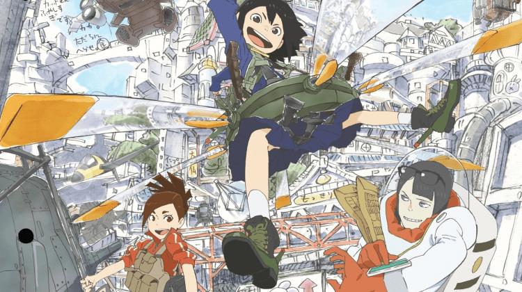 Anime Ost: Download Opening Ending Eizouken ni wa Te wo Dasu na!