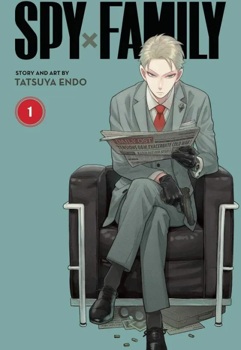 Top 10 Manga AnimeJapan 2021 - Spy x Family Manga Cover