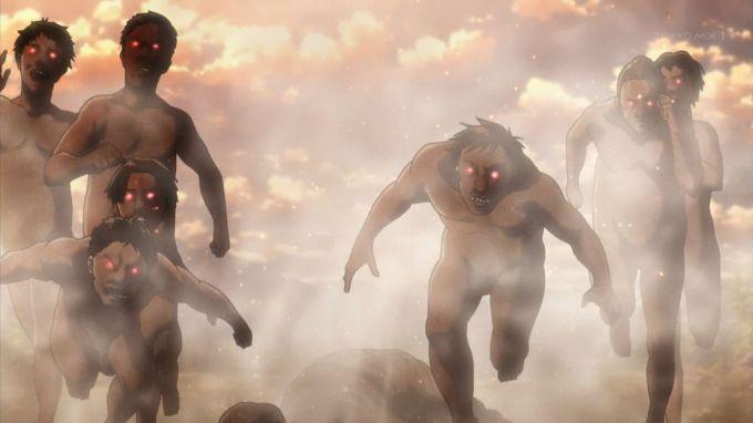 進撃の巨人 操られる巨人たち