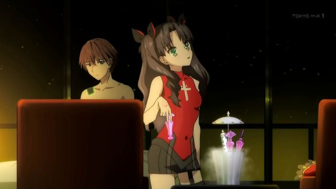 Fate_EXTRA Rin hand