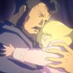 機動戦士ガンダムTHE ORIGIN1話感想・考察・解説!ダイクン&サスロ事件の犯人【前夜 赤い彗星】