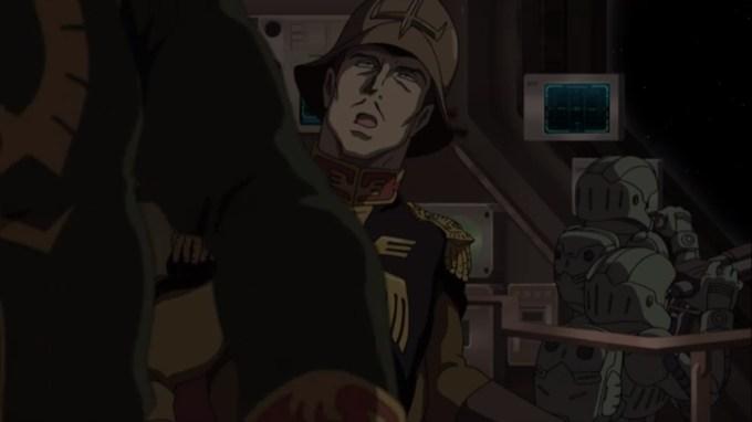 ガンダム 赤い彗星 11話 潜行中