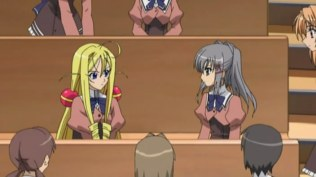 TWO rich girls dueling in a harem show...That's unusual.