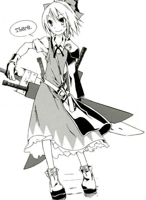 Advent Cirno, as drawn by 牛木義隆 (Yoshitaka Ushiki)
