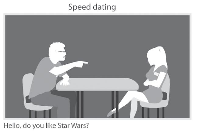 nerd speed dating comic con