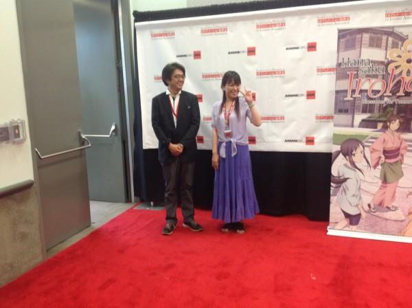 Nobuhiro Kikuchi (PA Works) and Mari Okada.