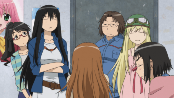 Ogiue isn't happy here. Should you at the new Genshiken?