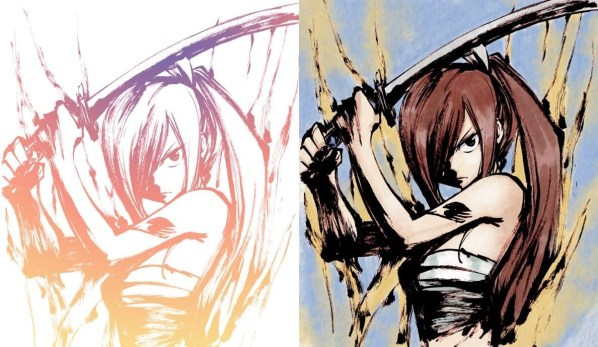 "Mangaka Hiro Mashima Tweets 130+ Colored Sketches of ""Fairy Tail"" [Gallery Edition]"