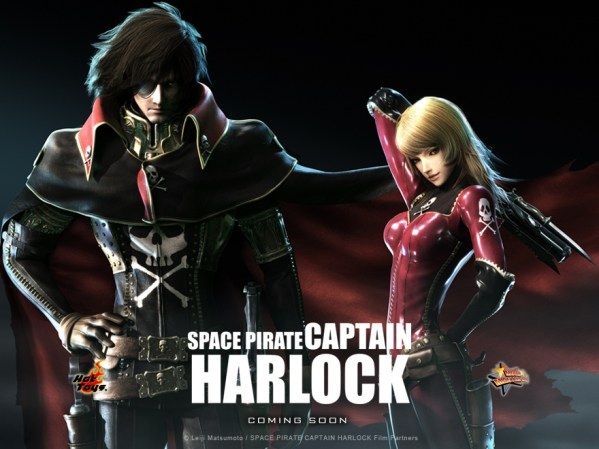 How To Muddle A Rebellion: Space Pirate Captain Harlock (2013)