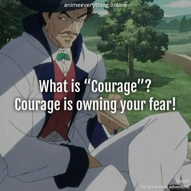 Jojo's bizarre adventure quotes