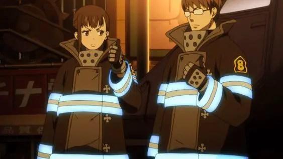 Fire Force Ships - Hinawa x Maki