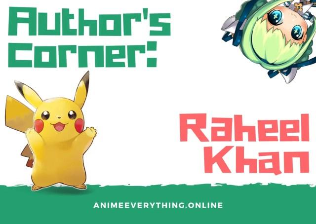author's corner - Raheel Khan
