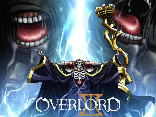 Overlord - Anime with overpowered MC